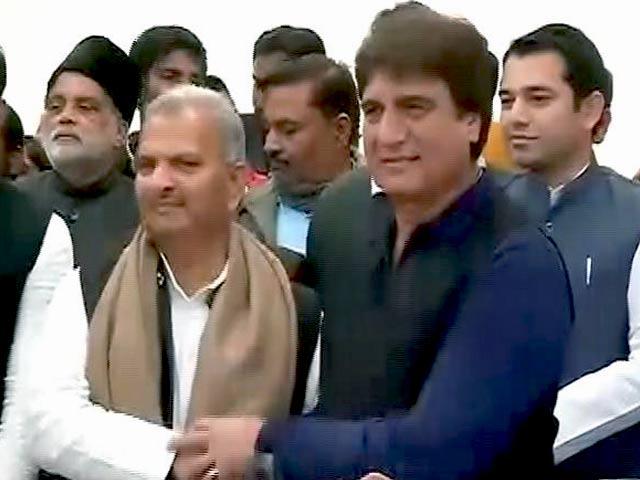 Video : यूपी में सपा और कांग्रेस के बीच गठबंधन की घोषणा