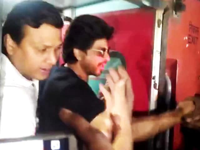 Video : Shah Rukh Khan Made Another Stop. Sawai Madhopur