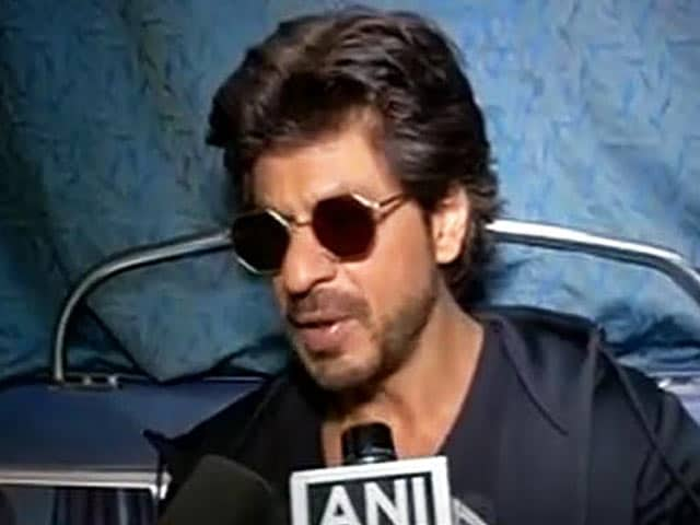 Video : Shah Rukh Khan On Vadodara Incident: Extremely Unfortunate