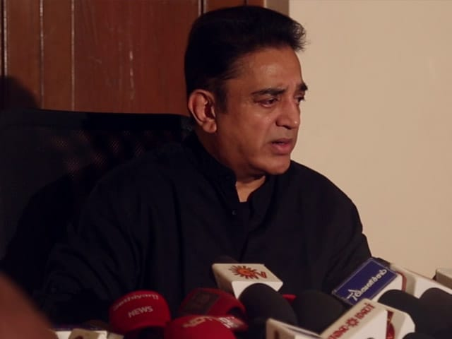 Video : 'Salaam No 2 For PM Modi If He Apologises For Notes Ban': Kamal Haasan