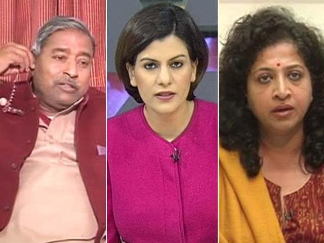 Video : 'What Is Wrong With Calling A Woman Beautiful?' Vinay Katiyar To NDTV