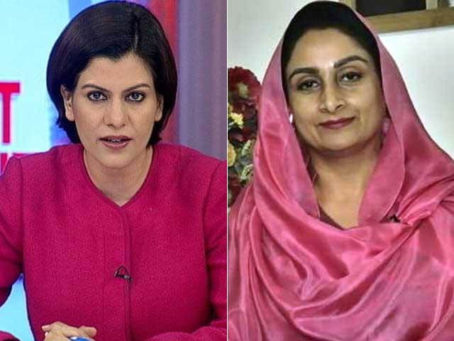 Video : 'Why Hold A Dynasty To Fault, It's The Choice Of People': Harsimrat Badal To NDTV