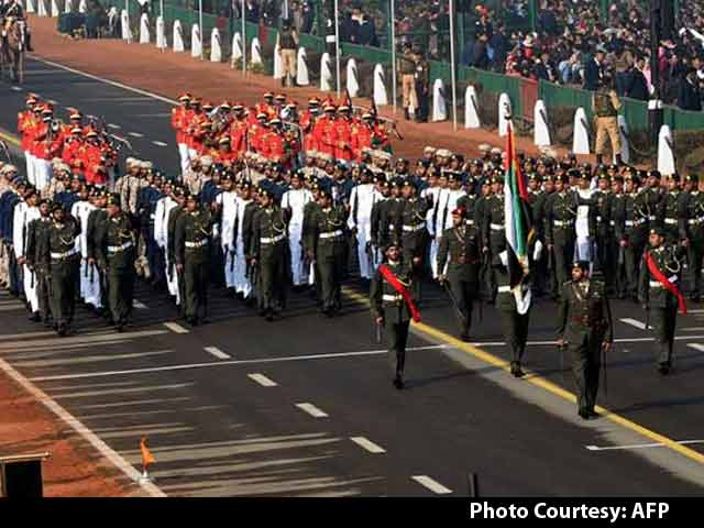 Video : Republic Day 2017: UAE Soldiers Lead March At Parade On Rajpath