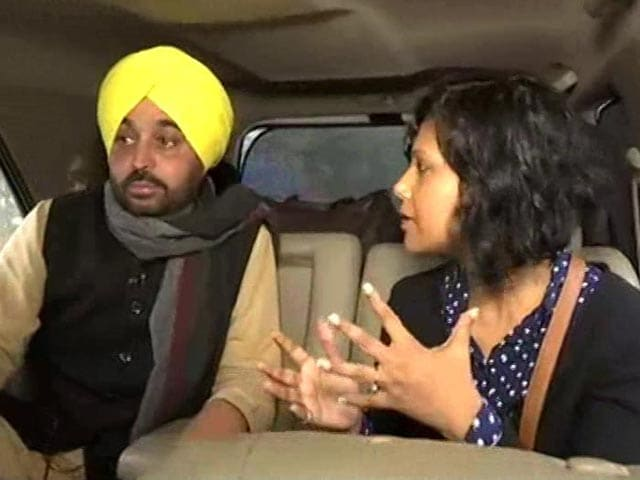 Video : Bhagwant Mann: AAP's Chief Ministerial Candidate?