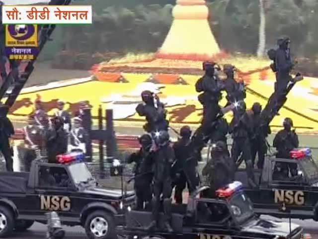 Videos : गणतंत्र दिवस परेड में पहली बार शामिल हुआ NSG कमांडो का दस्ता