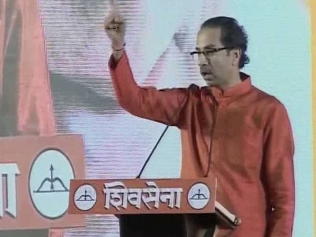 Video : Never Again, Says Shiv Sena On Alliance With BJP, 'Fight Begins Now'