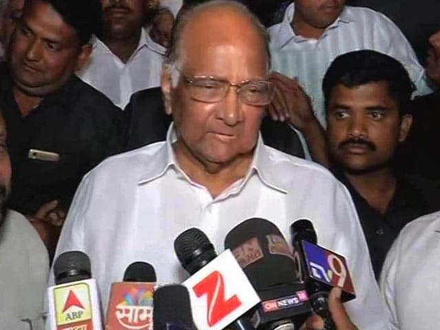 Video : With Sena Walking Away, BJP Could Head Towards Sharad Pawar