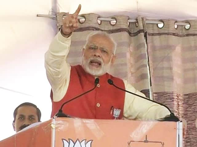 Video : Congress Is Yesterday's News, Says PM Modi In Poll-Bound Punjab