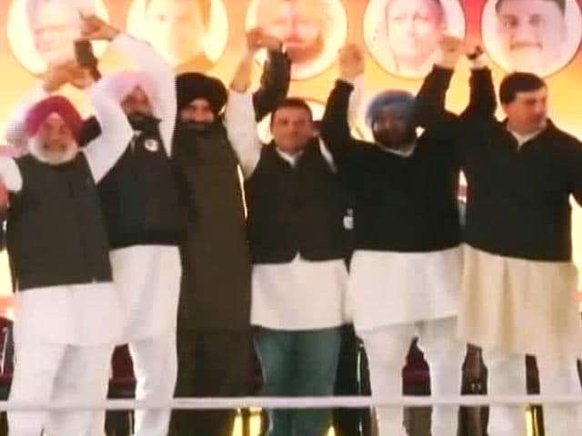 Video : As Punjab Election Nears, Parties Bring Out The Big Guns