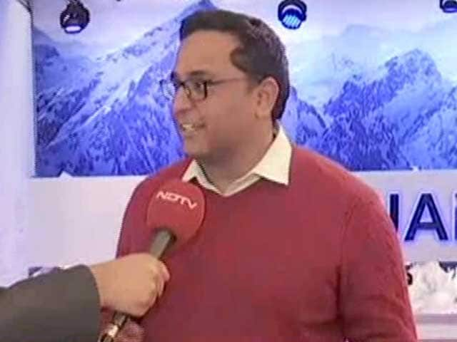 Video : Catching Up With the Paytm-Man