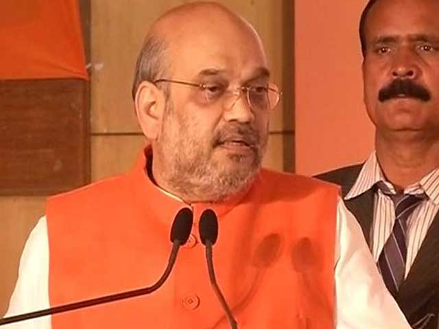 Video : Amit Shah Releases UP Manifesto, Says BJP Will Get Two-Thirds Majority