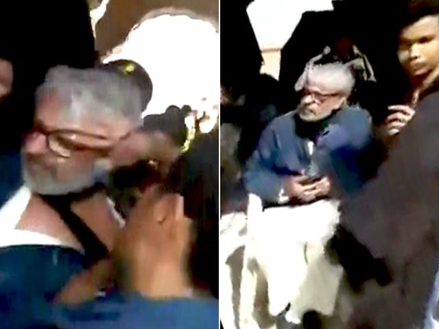 Video : Sanjay Leela Bhansali Assaulted On <i>Padmavati</i> Sets, Bollywood Demands Action