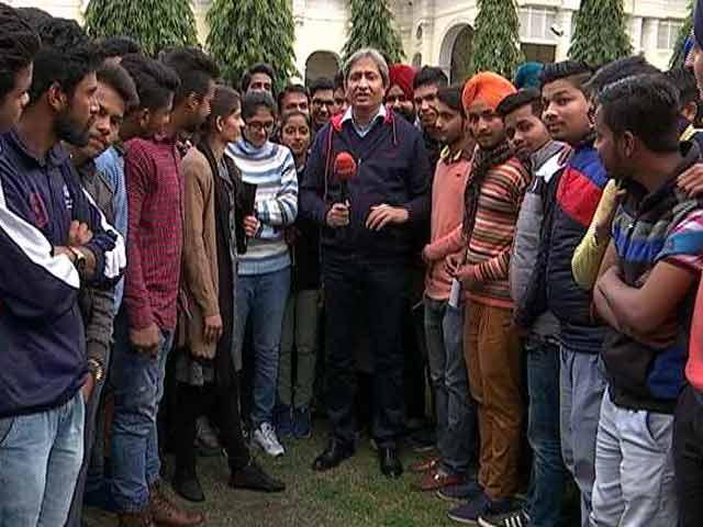 Videos : प्राइम टाइम : चुनावी राजनीति पर क्या राय रखते हैं पटियाला के छात्र