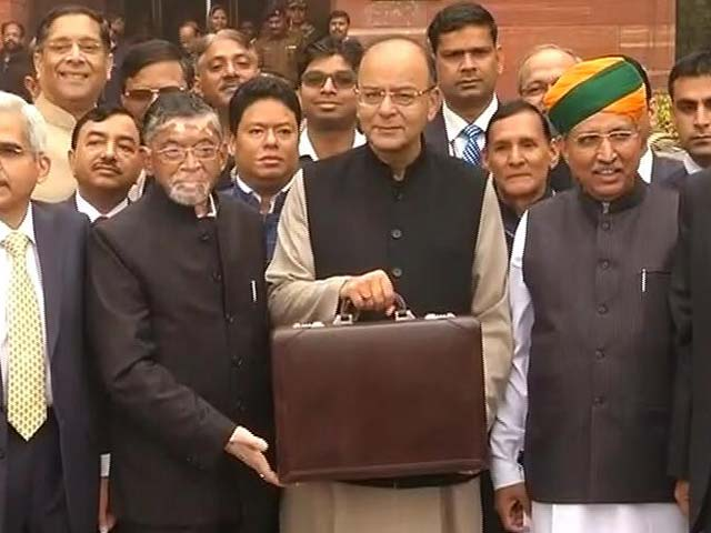 Video : Budget At 11 AM, Tweets Finance Minister Arun Jaitley