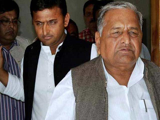 Video : Akhilesh 'My Son After All': Father Mulayam Singh's Flip-Flop On Alliance