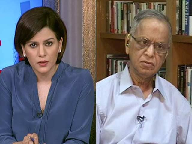 Video : Narayana Murthy On H1B Visas: 'Indian IT Companies Need To Get Out Of Comfort Zone'