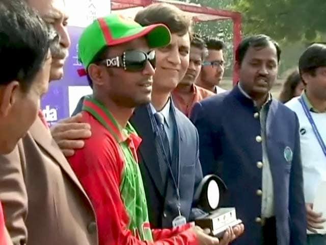 Video : भारत में खेला जा रहा टी-20 वर्ल्ड कप फॉर ब्लाइंड