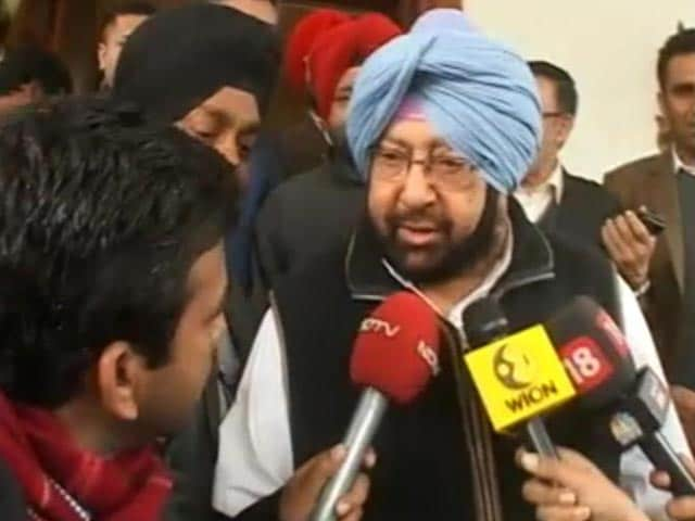 Video : Akali Dal Has Destroyed Punjab, BJP Equally Responsible: Captain Amarinder Singh