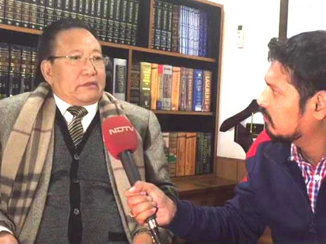 Video : Have Met Protester's Demands, Won't Step Down: Nagaland Chief Minister