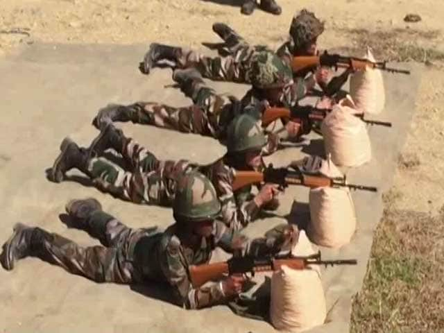 Video : Assam Rifles Inducts Women For The First Time, Posts Them On Active Duty