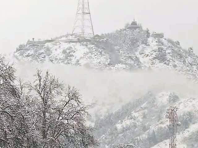 Video : जम्मू-कश्मीर में बर्फीले तूफान का अलर्ट