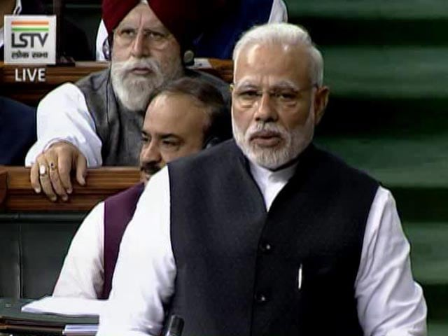 Video : PM Modi Refers To Earthquake In Quick Swipe At Rahul Gandhi