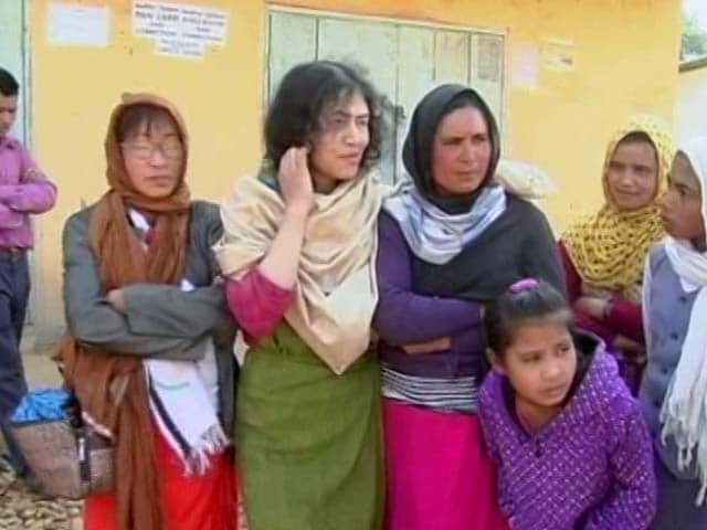 Video : Irom Sharmila's 'Down To Earth' Campaign In Manipur Chief Minister Turf
