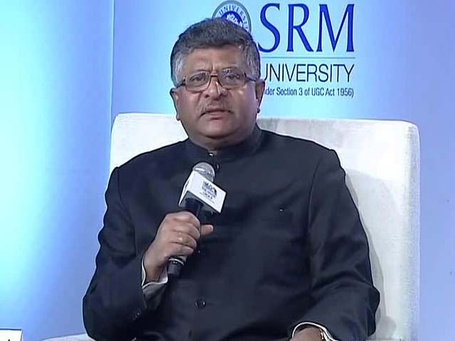 Video : Former Chief Justice Shouldn't Have Cried: Ravi Shankar Prasad On Tussle With Judiciary