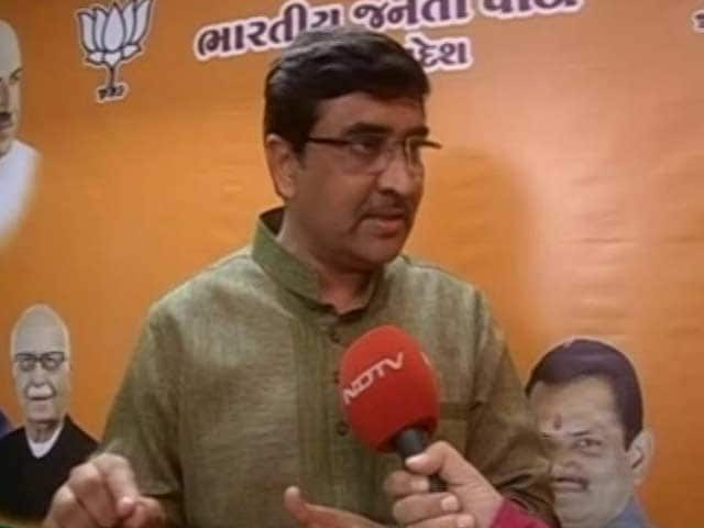Video : Naliya Gangrape: BJP Refutes Congress' Allegations Of Sex Racket