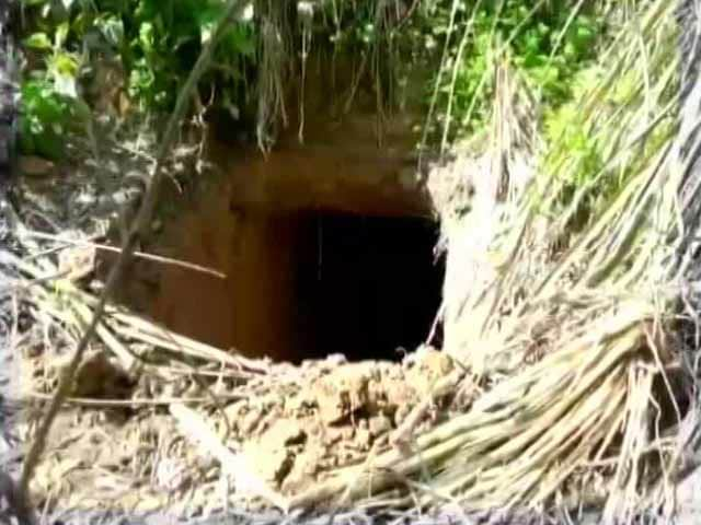 Video : 20-Foot Tunnel From Pakistan Found By BSF At Sambha, Jammu and Kashmir