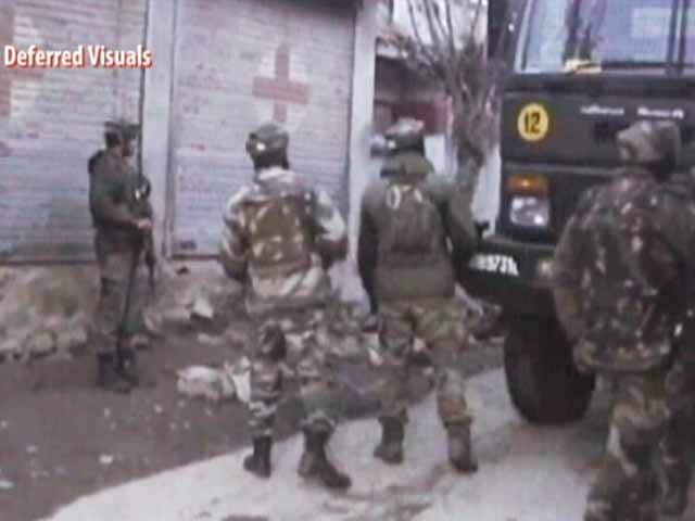 Video : 3 Soldiers Dead In Encounter In Jammu And Kashmir's Bandipora, Terrorist Killed