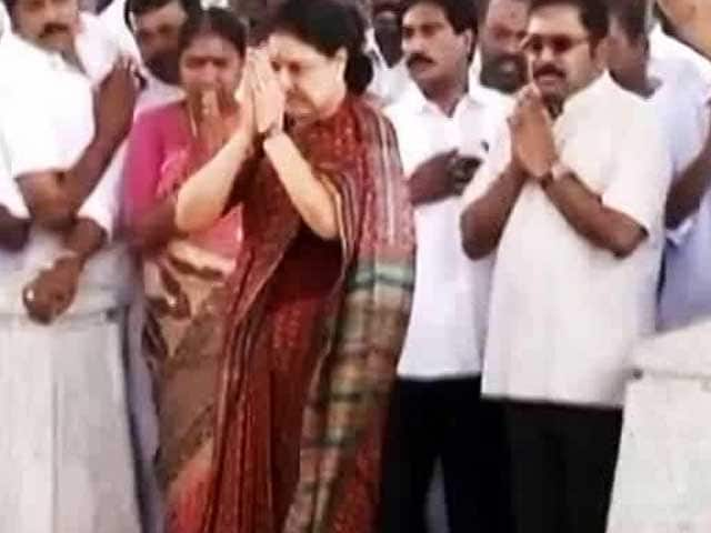 Video : Sasikala Placed Nephew In Charge Of Party. It Can't Get Enough Of Him