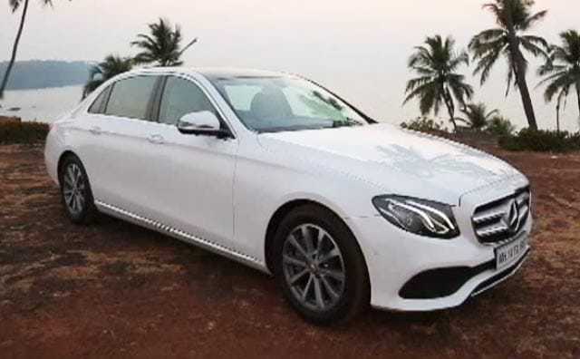 Mercedes Benz E Class Price In India Images Mileage Features