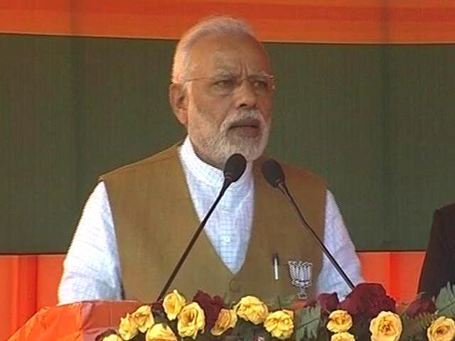 Video : With Eid, Holi Reference, PM Modi Attacks Akhilesh Yadav On 'Discrimination'