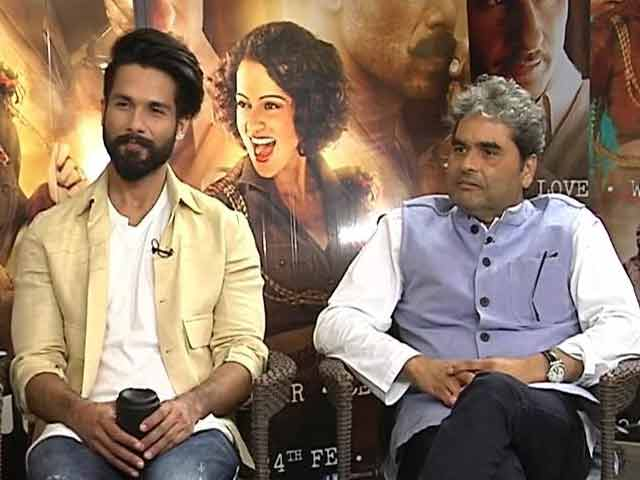 Shahid Kapoor Decodes Rangoon Director Vishal Bhardwaj