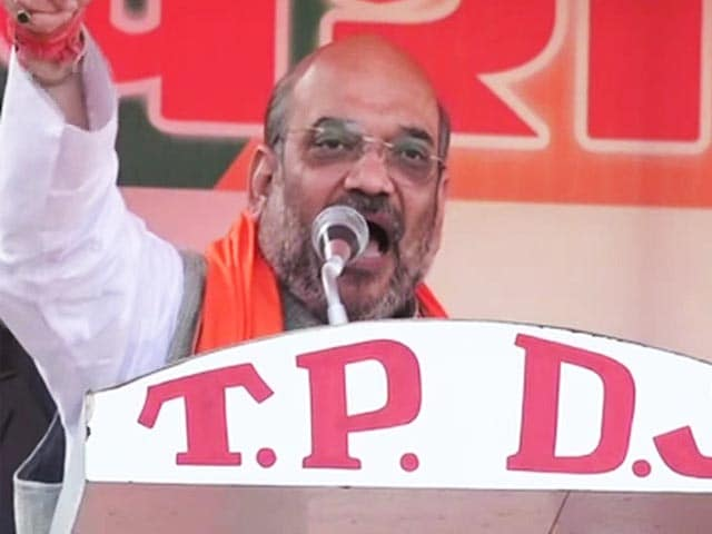 Video : Kasab Needs To Go From Uttar Pradesh: What Amit Shah Meant