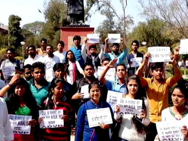 Videos : दिल्ली के रामजस कॉलेज में हुई हिंसा की जांच के लिए पैनल गठित