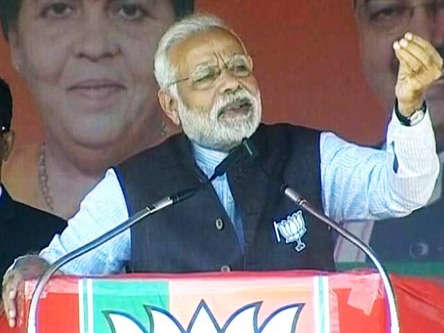 Video : पूरे देश में बीजेपी की आंधी चल रही है- प्रधानमंत्री नरेंद्र मोदी