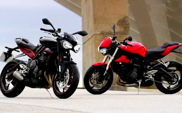 Triumph Street Triple, New Audi A3 And Volkswagen GTI