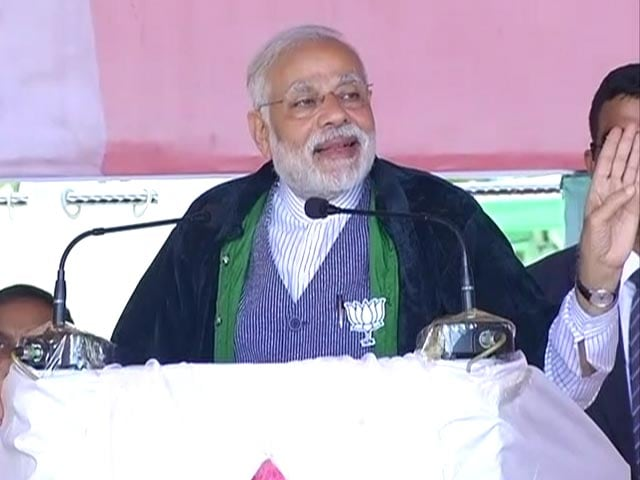 Video : Does Manipur Need A 10% Chief Minister, Asks PM Modi