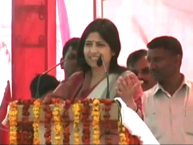 Video : Dimple Yadav: Samajwadi Party's Emerging Leader