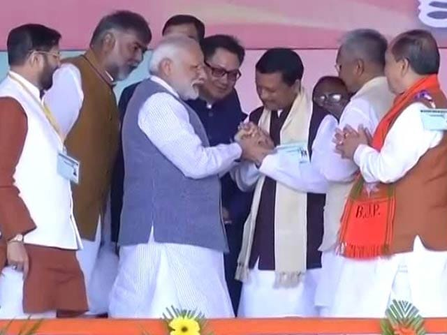Video : With PM Narendra Modi As Campaign Face, BJP Eyes Assam Redux In Manipur