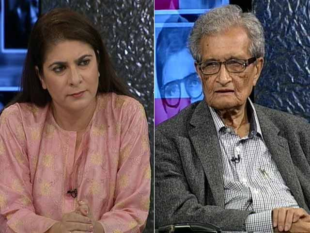Video : The NDTV Dialogues With Amartya Sen
