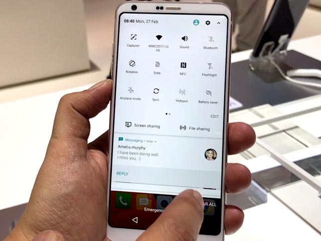 Video : LG G6 First Look