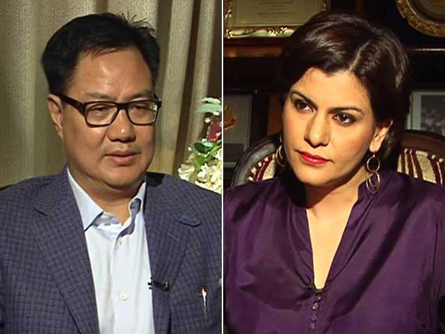 Video : 'Gurmehar Kaur Being Used As A Pawn,' Minister Kiren Rijiju Tells NDTV