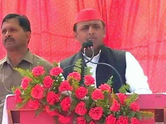 Videos : बलिया में मुख्यमंत्री अखिलेश यादव ने प्रधानमंत्री पर साधा निशाना