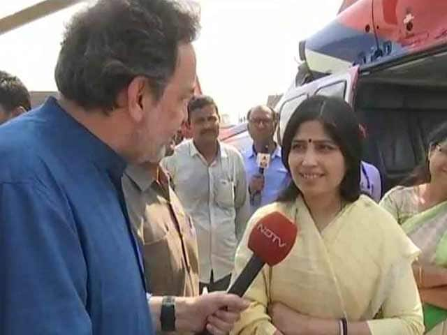 Video : PM Modi Shouldn't Present False Facts About UP, Says Dimple Yadav