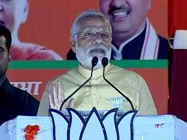 Video : 'Kuch Ka Saath, Kuch Ka Vikaas' Motto Of Opponents, Says PM In Varanasi