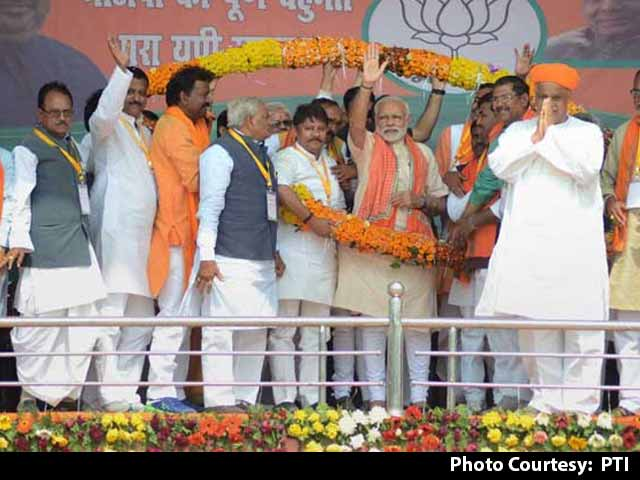 Video : UP Elections 2017: BJP Showers Attention On Varanasi, But Its Eye Is On Mirzapur Too