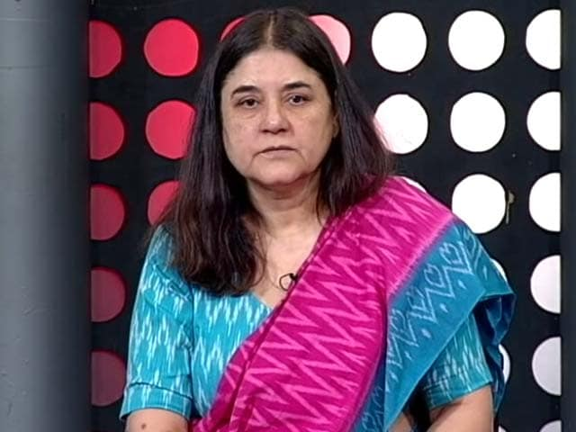 Video : Why Hostels Need Early Curfew: 'Hormonal Outbursts' Says Maneka Gandhi